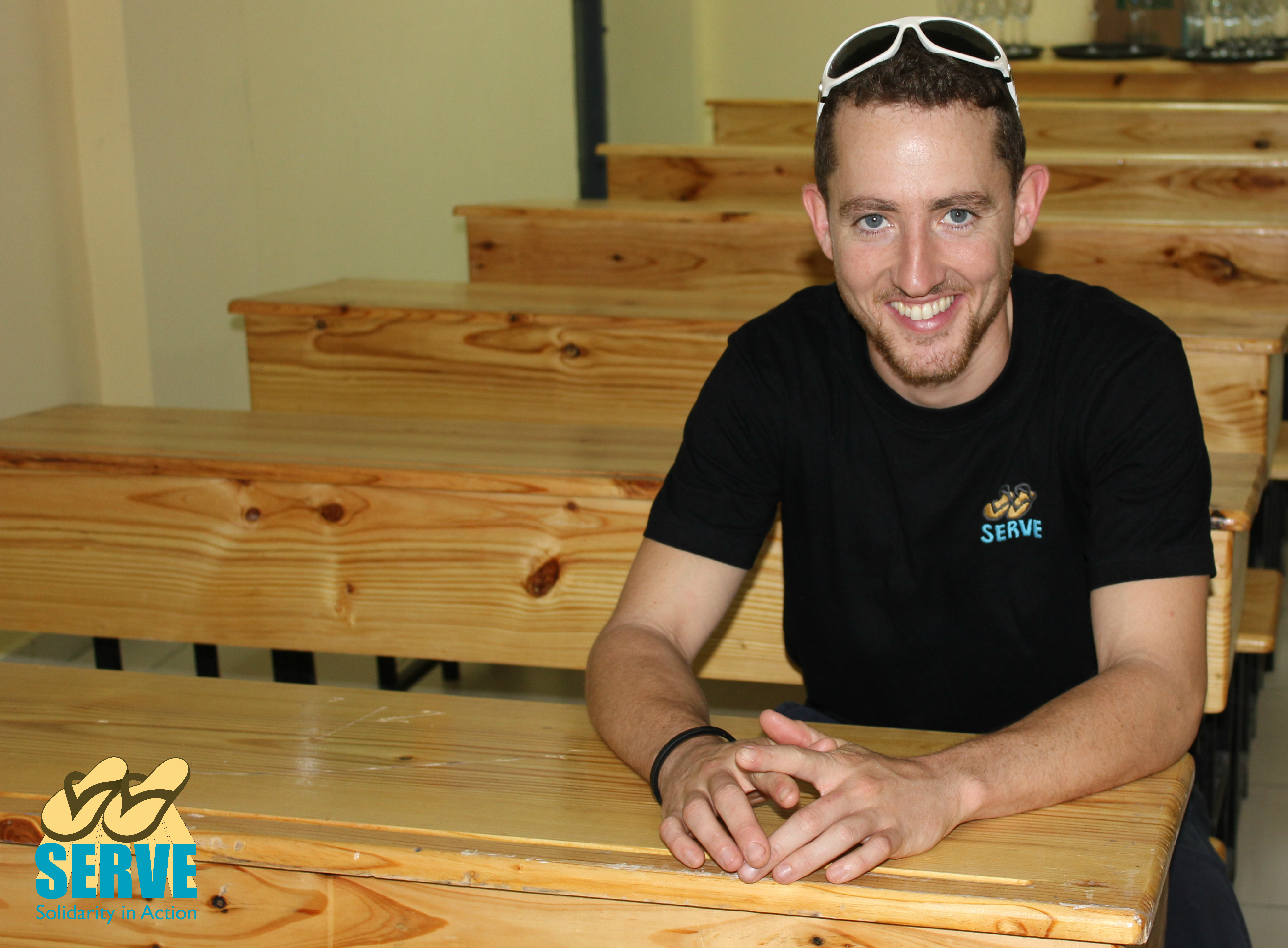 Stephen Stranney, SERVE volunteer (2010, 11, 12)