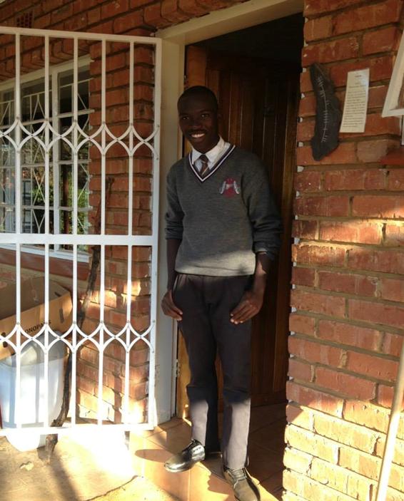 Rebaona 'MacD' Moatshe a student who lives in Tsholofelo Community