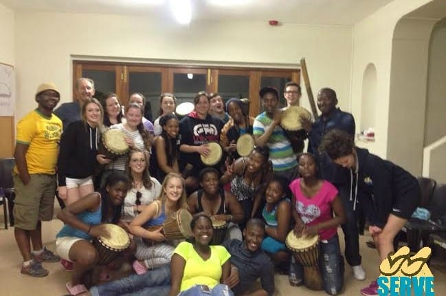 'Born Free' weekend with SERVE volunteers and South African Youth
