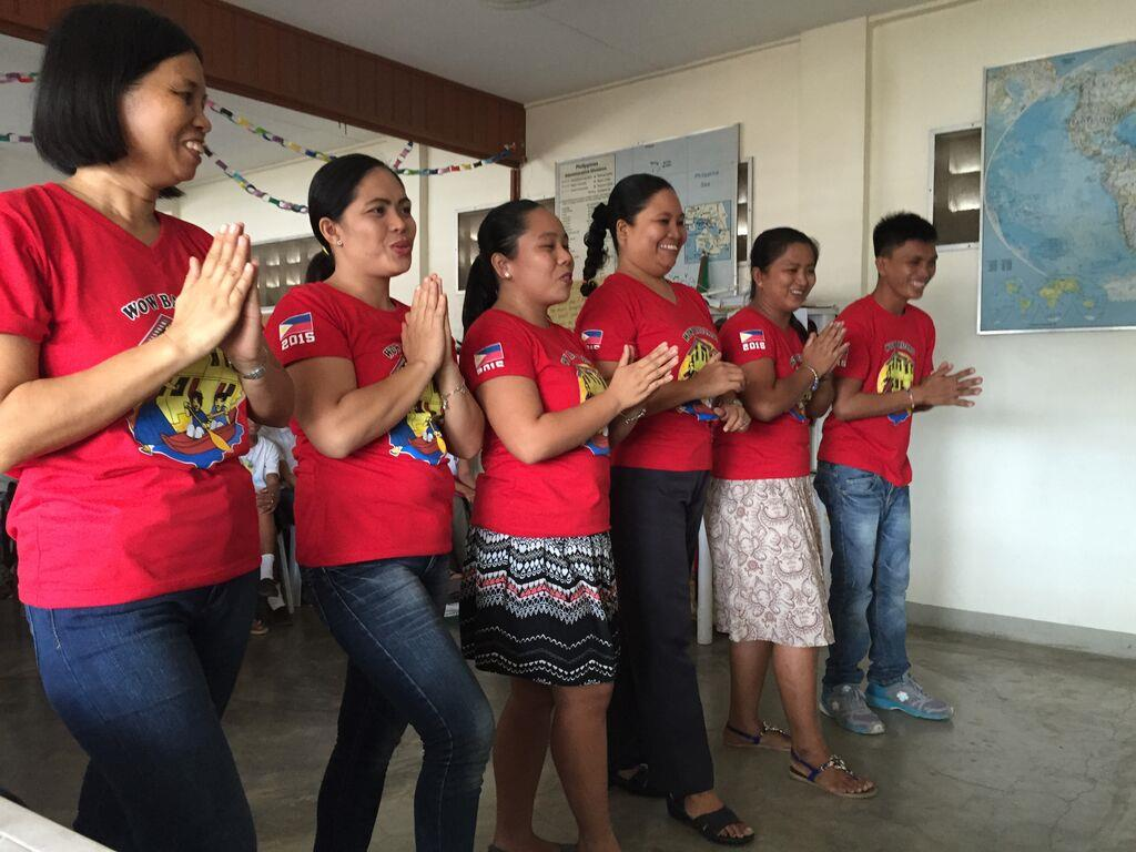 The wonderful Badjao teachers and support officers