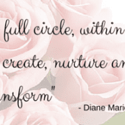 -A woman is the full circle, within her is the power to create, nurture and transform-