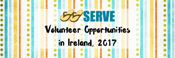 Volunteer Opportunities 2017