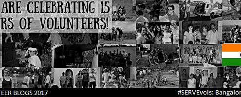 We are celebrating 15 years of volunteers! (India)