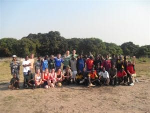 First SERVE Volunteer Group in Mozambique, 2008