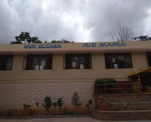 Ava Maria outside